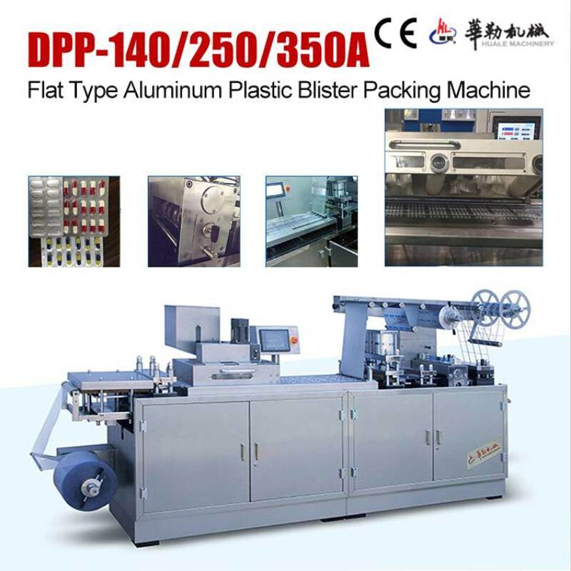 Best Service Aluminum Plastic Blister Packaging Machine