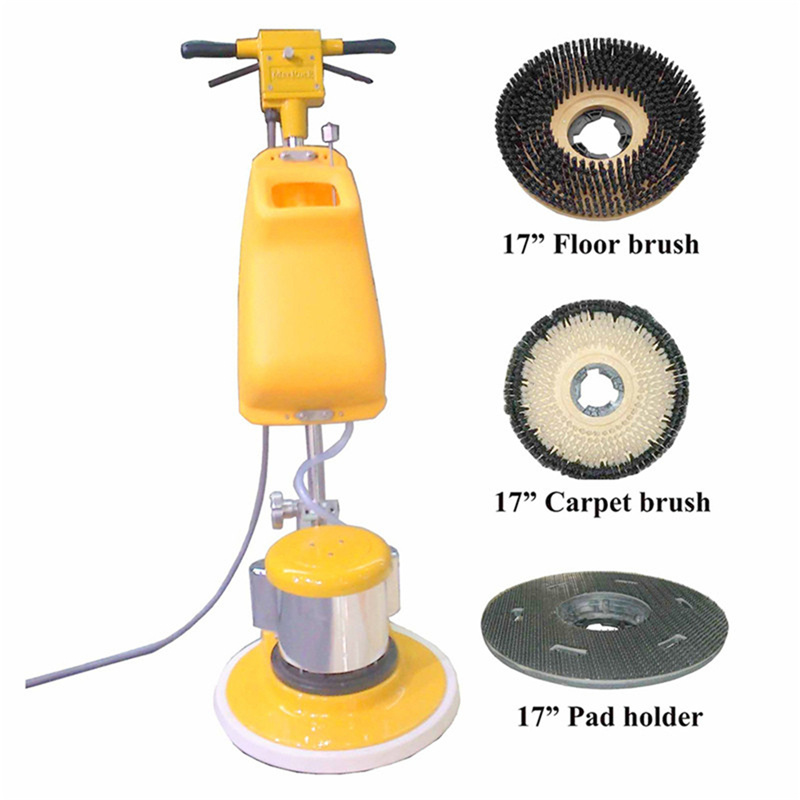 Hot Item Marble Floor Cleaning Machine 17 Inch Stone Floor Cleaner Buffer