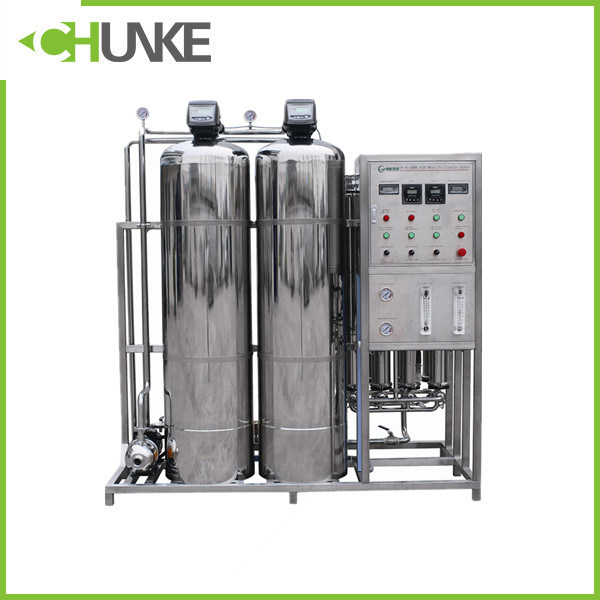 Industrial 500L/H Ss RO System Mineral Water Treatment Machine