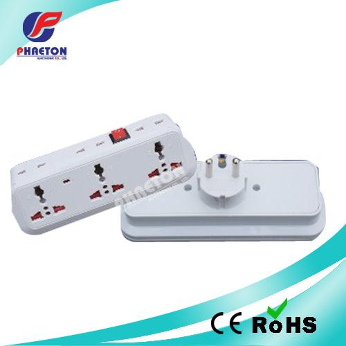 China 3way AC/DC Europe Power Socket Adaptor Plug - China AC Plug ...