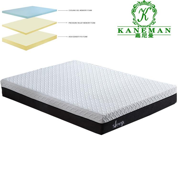 China Wholesale Oem Customized Sleepwell Memory Foam Mattress In A