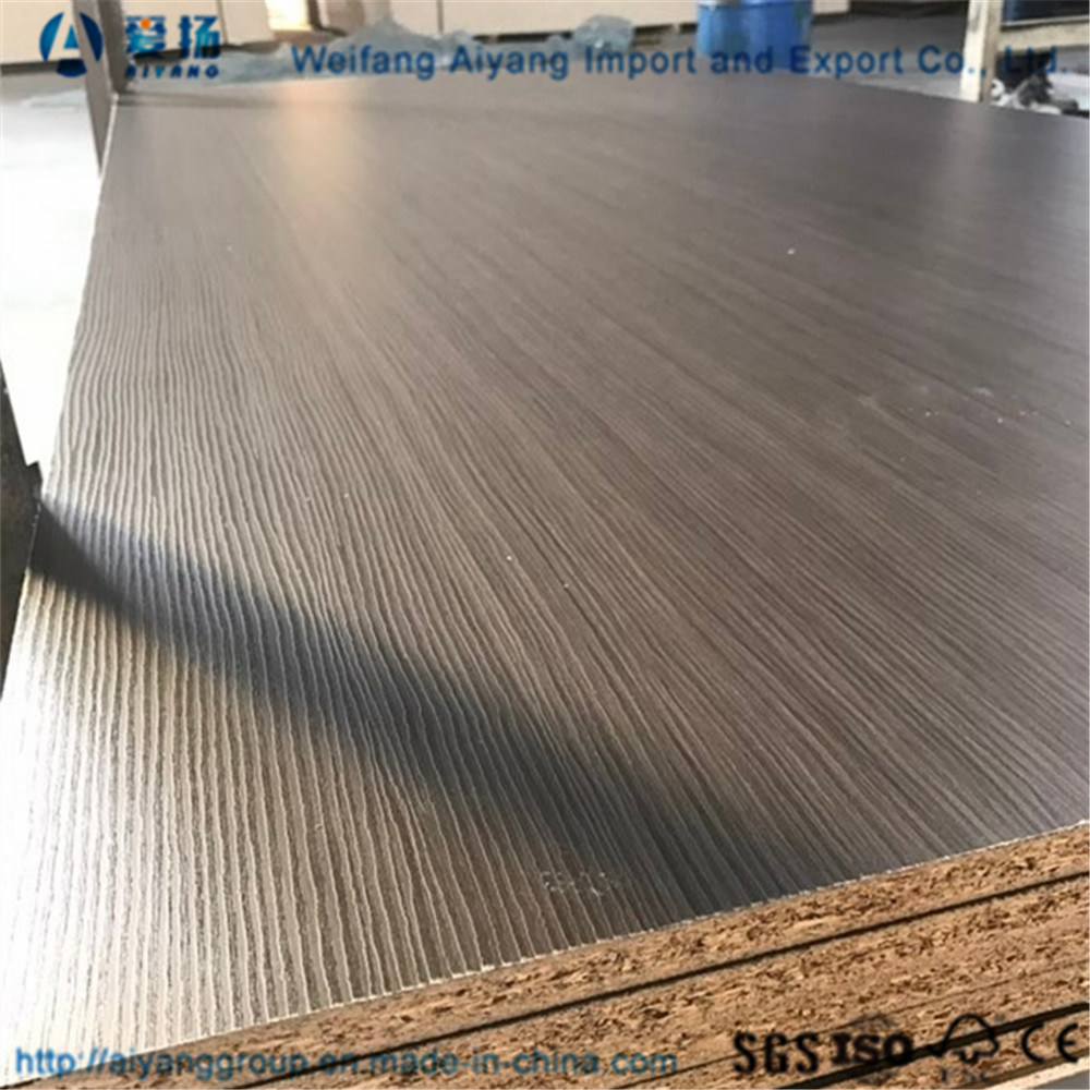 China All Size Melamine Laminated Chipboard Particleboard With Carb Particle Board