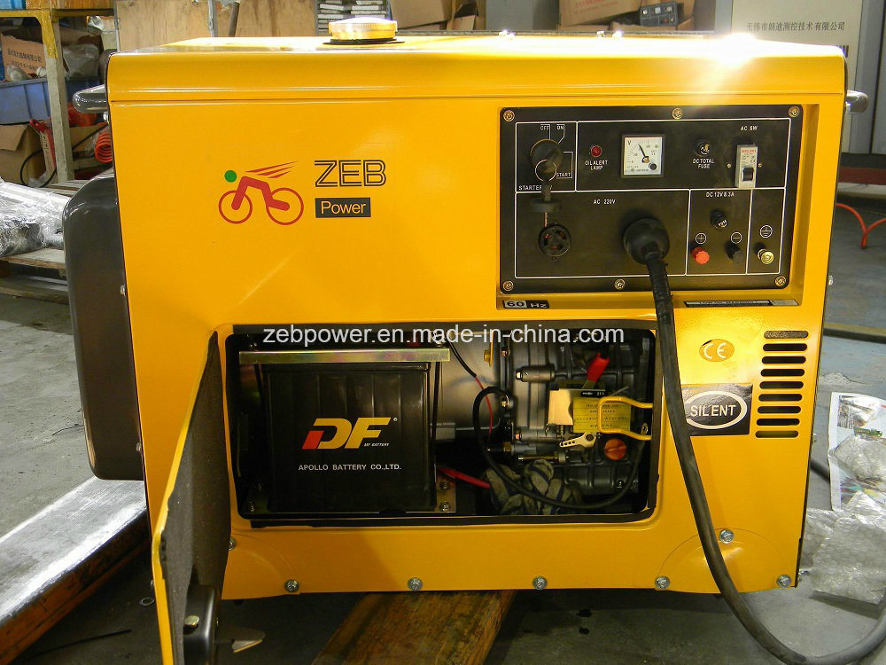 7kVA Silent Type Portable Generators (ZDE8600T) pictures & photos
