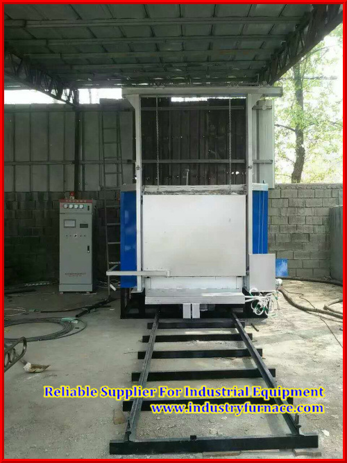 Car Bottom Tempering Furnace Rt3