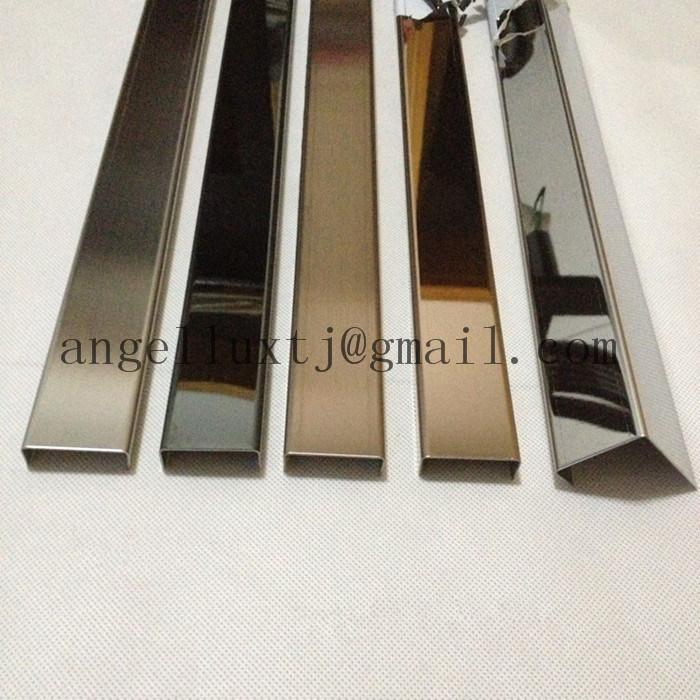 China Decoration Stainless Steel Metal Tile Trim Home