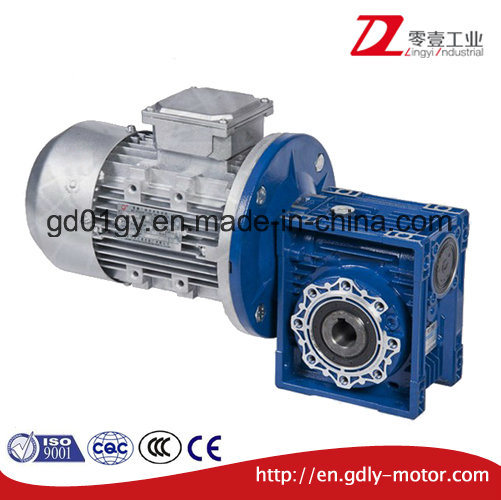 Aluminum Worm Gear Speed Reduce with Motor pictures & photos