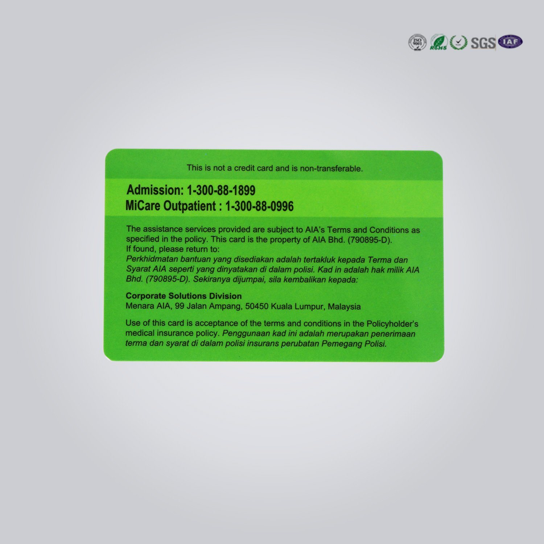 China PVC Spot UV Business Card Printing - China Smart Card, Plastic ...