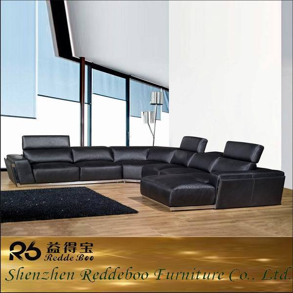 [Hot Item] Italian Modern Big Size Sofa Furniture, Italian Living Room  Sofa, Hot Sale Italy Furniture 8010#