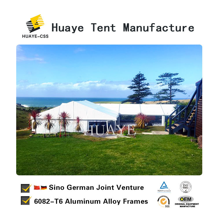 China German Standard Wedding Marquee Tent For 800 People Hy151b