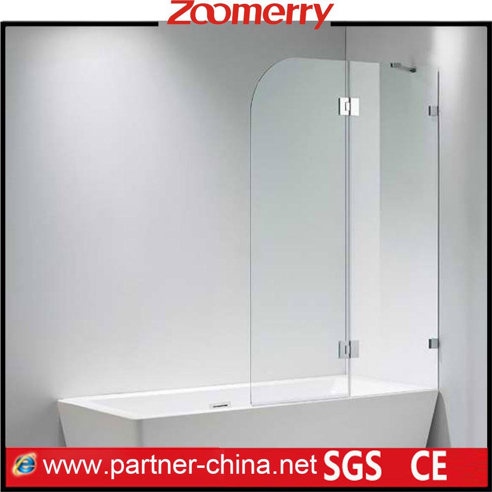 China Bathtub 2 Sided Hinge Bathtub Shower Screen (MXY6221) - China ...