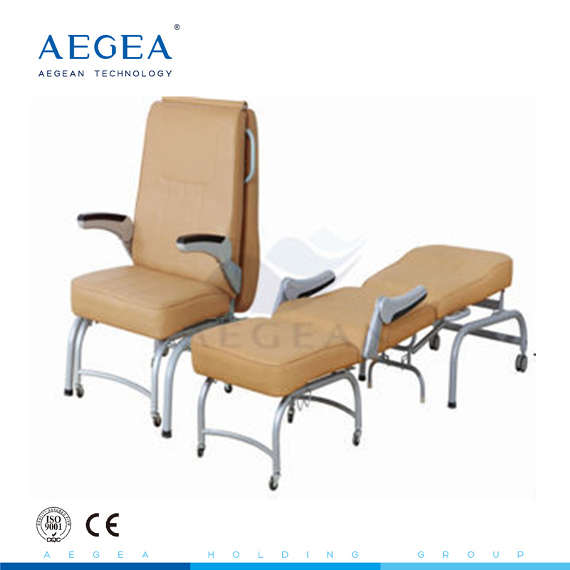 Swell Hot Item Accompany Hospital Furniture Folding Chair Sofa Bed With Sponge Padded Caraccident5 Cool Chair Designs And Ideas Caraccident5Info