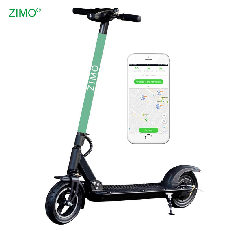 [Hot Item] 2019 New Two Wheels GPS Rental Bird Sharing Electric Scooter,  APP Function Foldable Lime Sharing Scooter