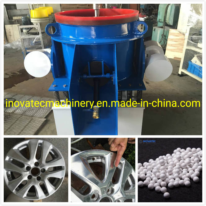 China Aluminum Aluminium How To Polish Aluminum Wheels Wheel Polishing Machine China Royson Vibratory Finishing Machine Rosler Vibratory Polishing Machine