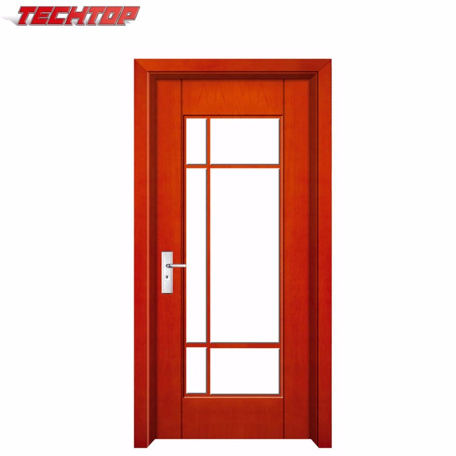 China Tpw-110 Simple House Wooden Front Main Gate Designs in Wooden ...