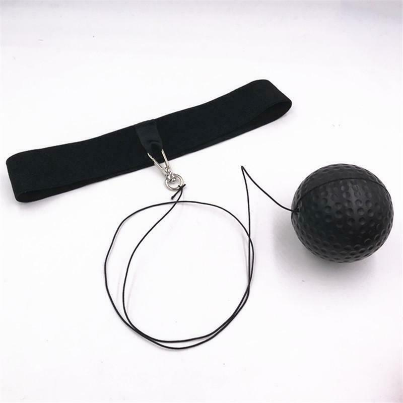 MMA Boxing Fight Ball With Head Band For Reflex Speed Training Punching Exer JC