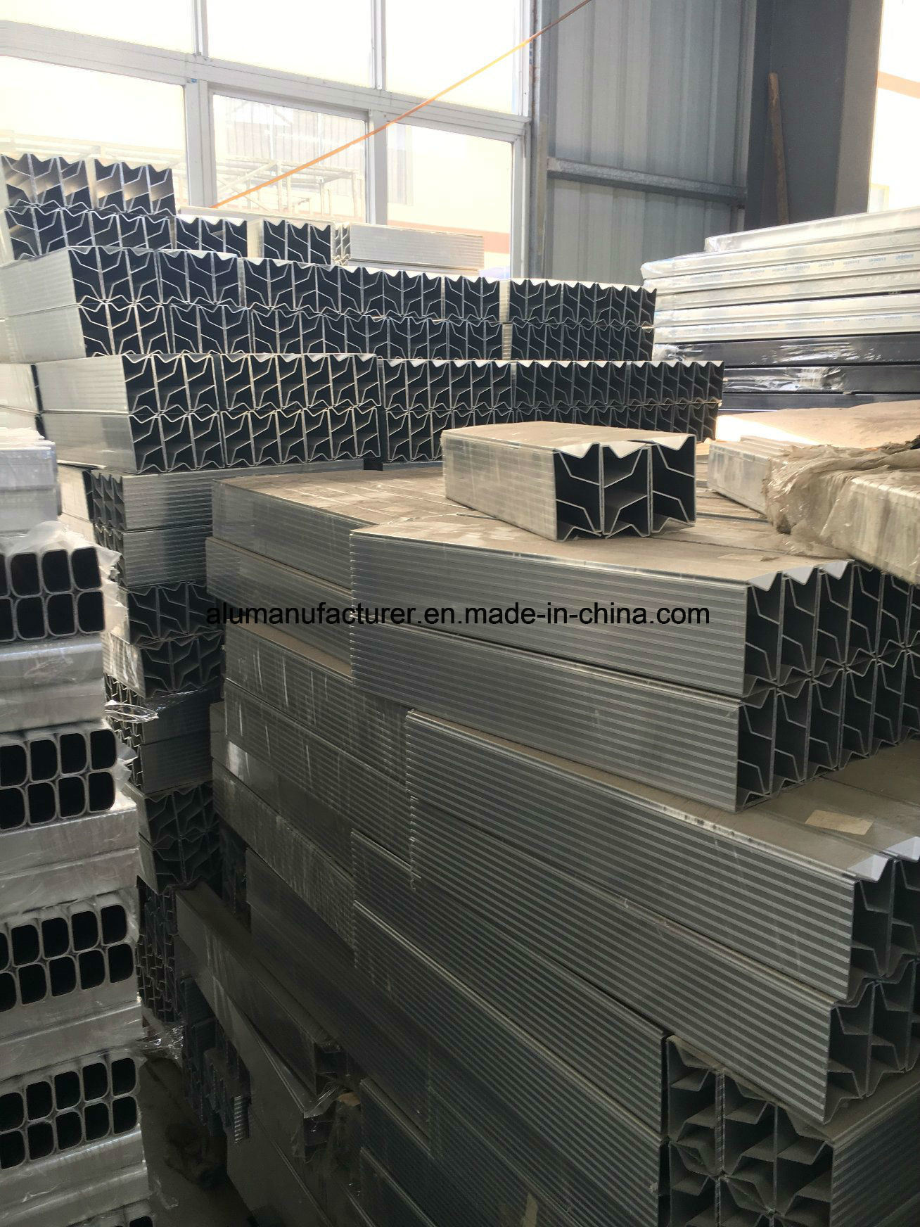 American Ladder Aluminium Alloy Extrusion Profile for Door and Window (02 Series) pictures & photos