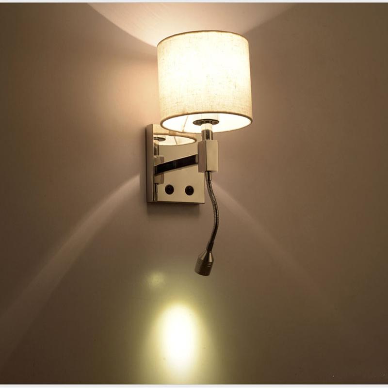 Bedside Led Sconce Wall Light Lamps