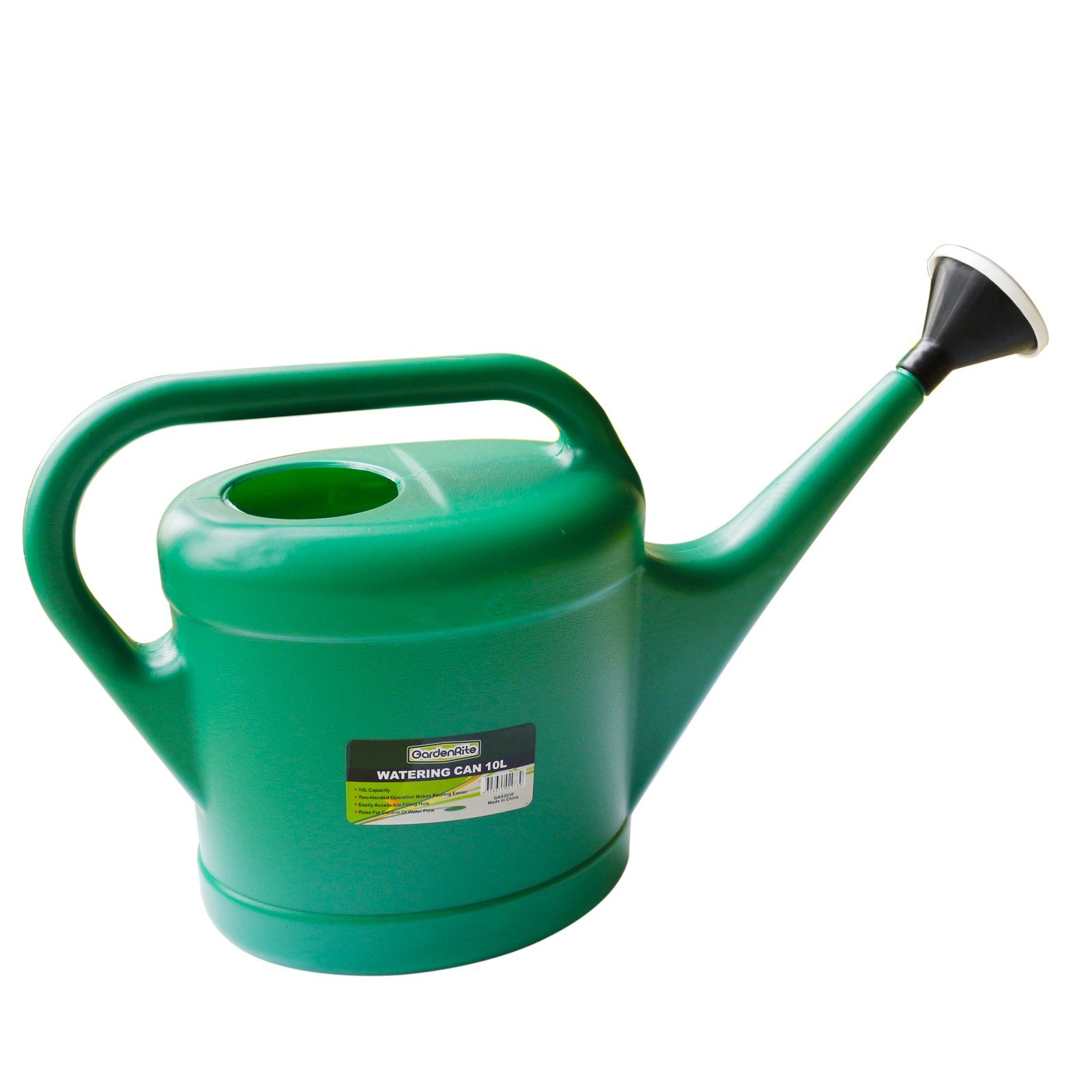 Hot Item High Quality Garden Tools 10l Pe Plastic Water Pot Watering Can