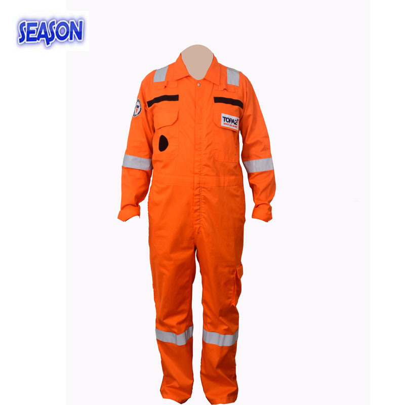 Orange Coverall Safety Working Clothes Protective Clothing Coverall Workwear