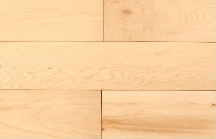 Light Natural Maple Hardwood Flooring