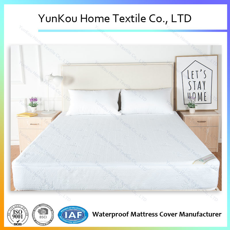 Custom Pattern Watterproof Jacquard Knitted Mattress Encasement with Quality Zipper