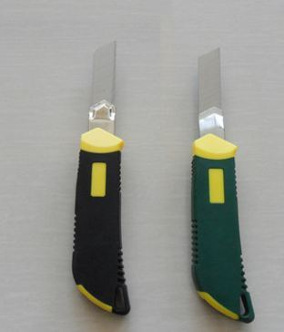 Snap of Knife / Utility Knife with TPR Handle