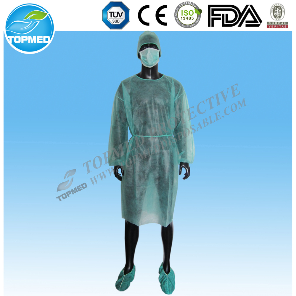 China Medical Eo-Sterilized or Not Isolation Gown/Surgical Gown Free ...