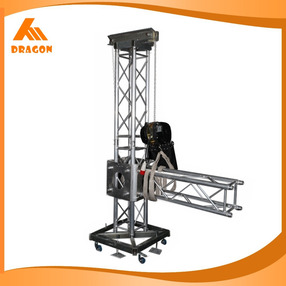 China Portable Lighting Tower Truss Systems For Outdoor
