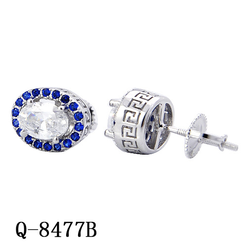 4445b03a6 Cheap Personalized Fine Jewelry 925 Sterling Silver Cubic Zirconia Screw  Back Stud Earring Hotsale