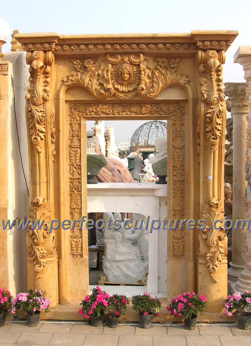China Stone Marble Granite Arch Doorway For Archway Door