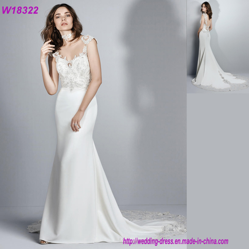 Hot Item Wedding Dresses Country Style Custom Made Bridal Gowns 2018