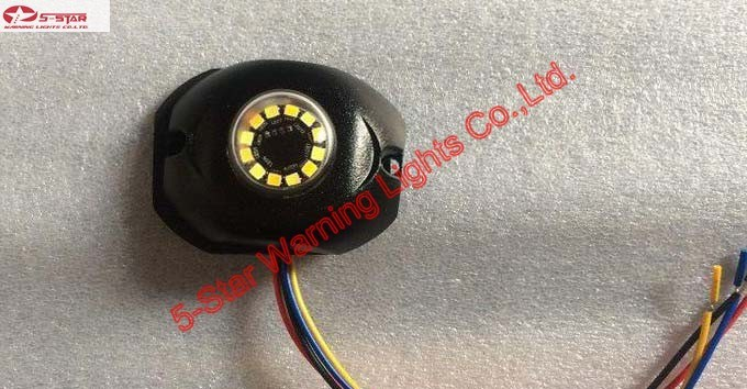 Dual Colors LED Hide-Away Strobe Flashing Emergency Warning Light pictures & photos