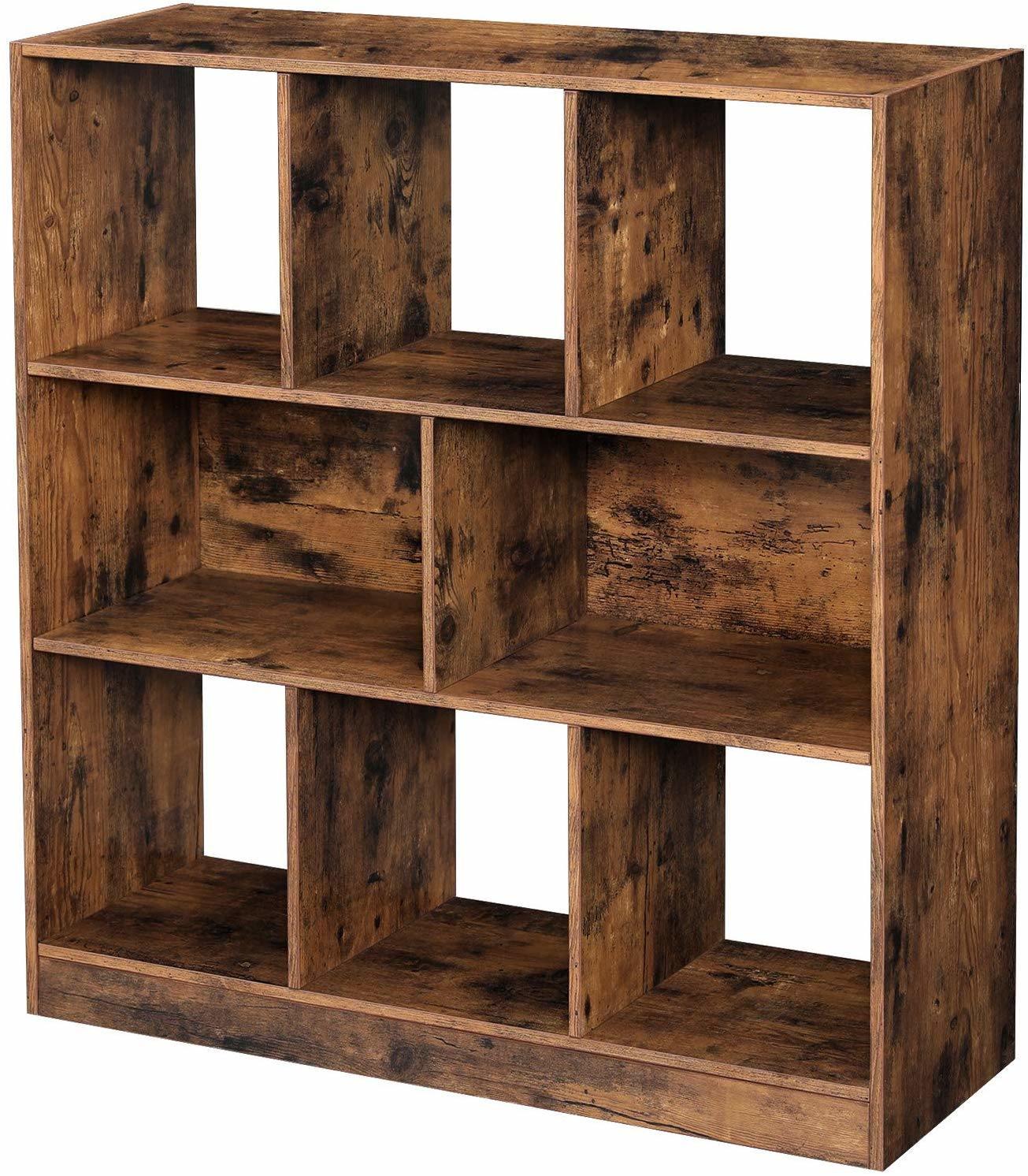 China Standing Bookshelf Storage Unit, Living Room Shelf Unit