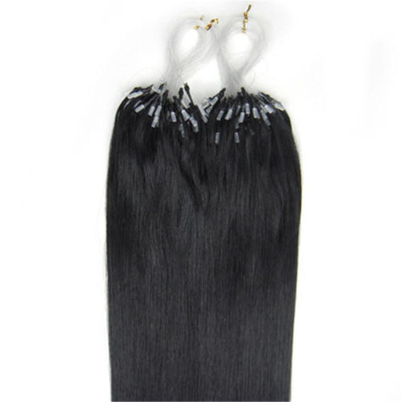 China Indian Remy Micro Loop Ring Hair Extension China Micro Loop