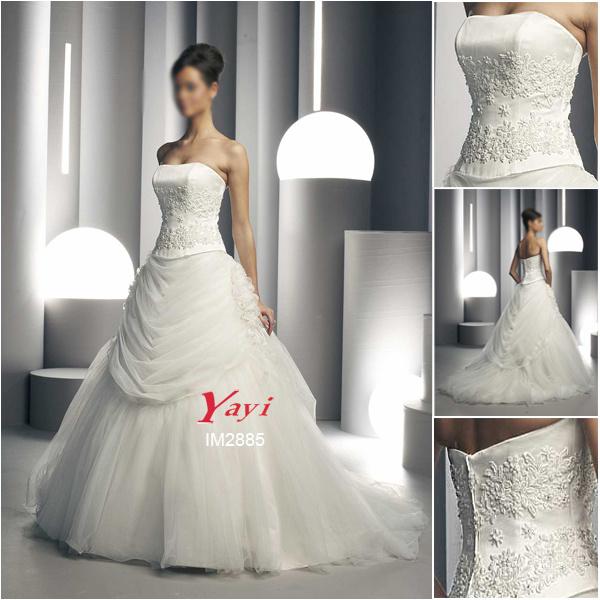 Wedding Gown Preservation Process Machines: China Unique Wedding Dress, Saucy Bridal Gown (IM2885
