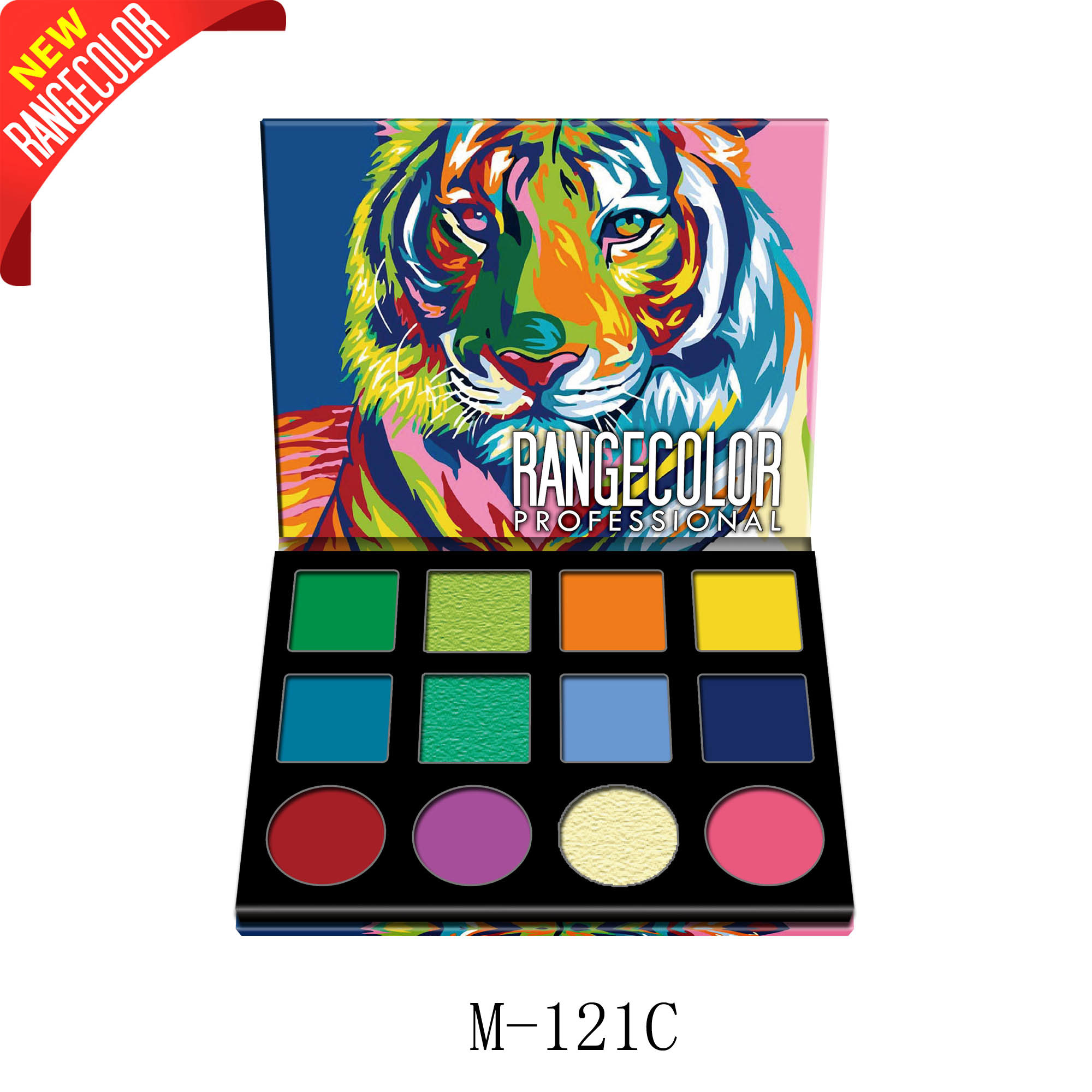 Animal New 12 Colours Eyeshadow Palette pictures & photos