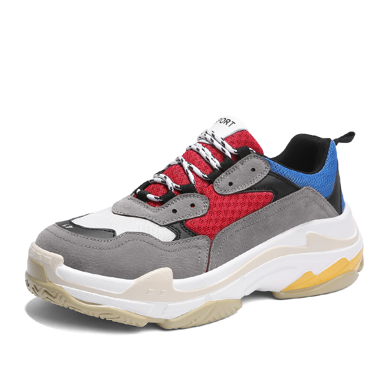 8933a6abc9eb China 2018 Hot Sale Fashionable Complex Sole Triple S Trainers Sneaker Men  Shoe - China Triple S Trainers Shoes