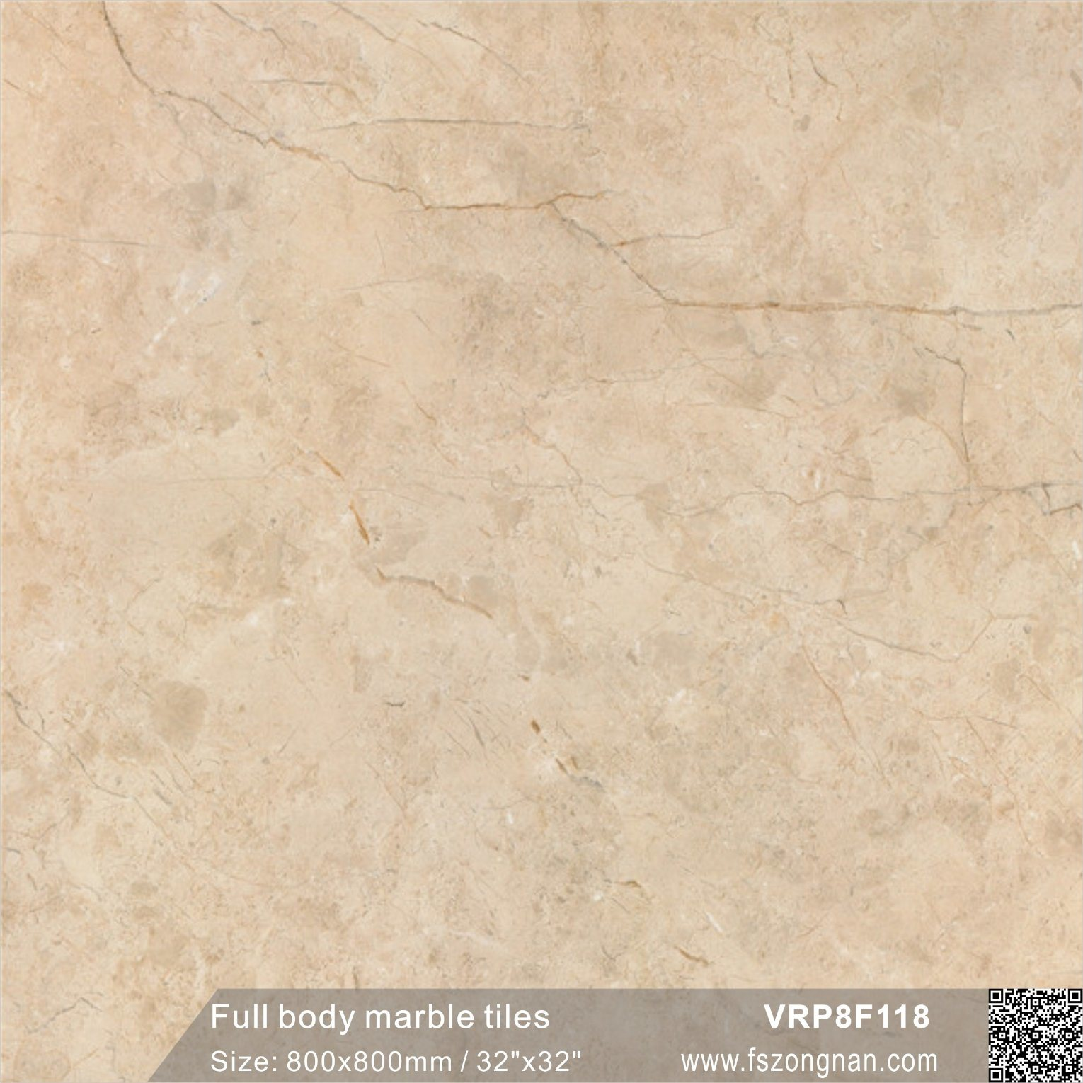 China Dark Pink Full Body Marble Glazed Floor Tile Made In China