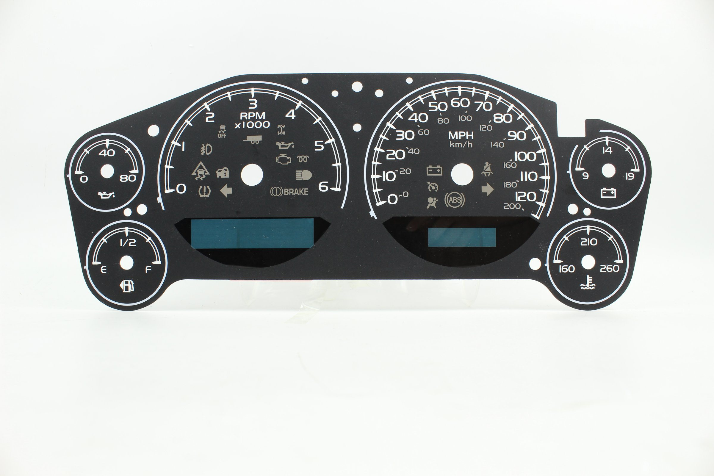 China Fe-MD032 2D Speedometer Faceplate for Chevy Silverado Photos ...