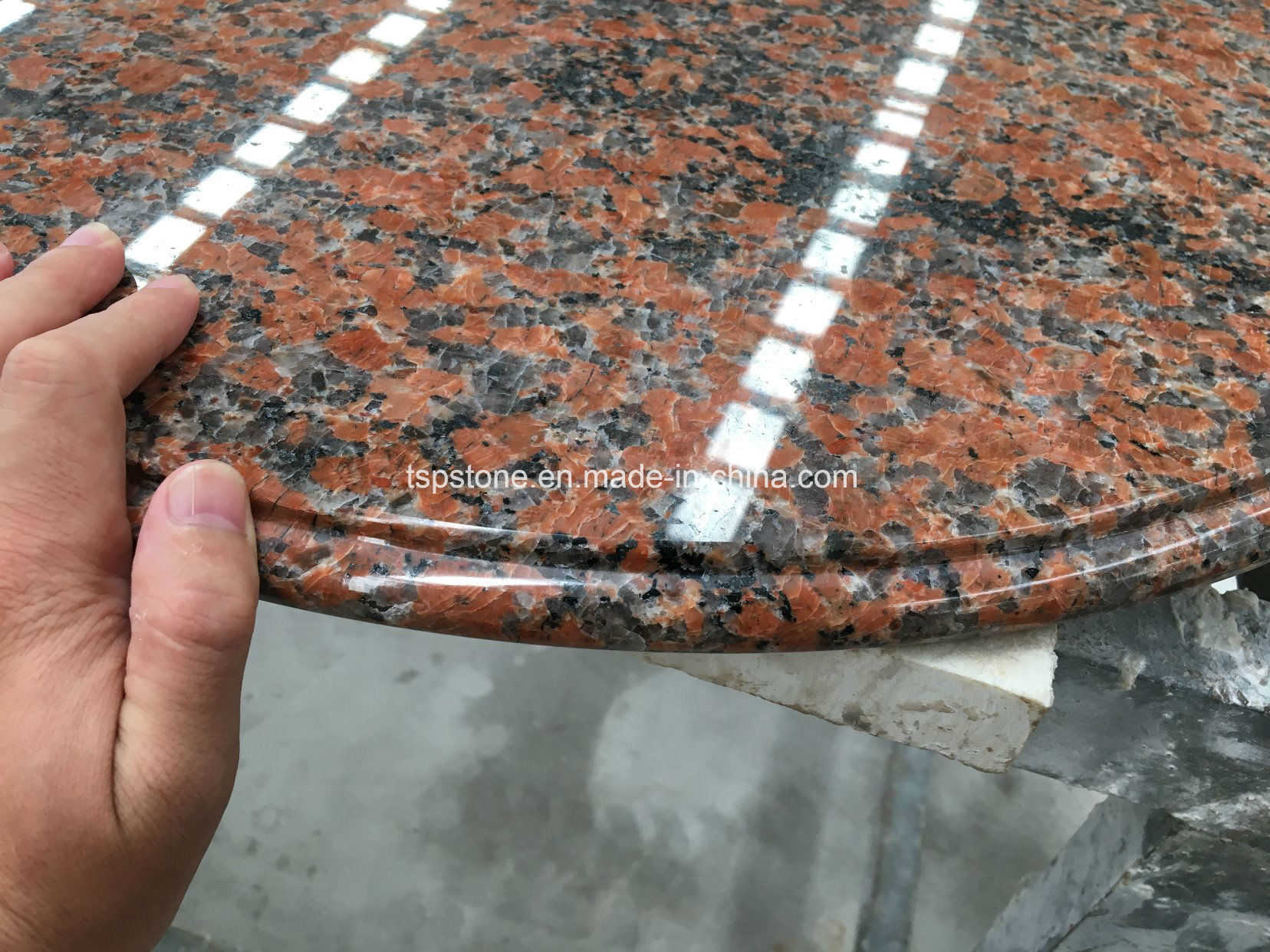 China Natural Granite Stone Coffee Dinner Round Table Top For Coffee Shop China Table Top Dinner Table Top