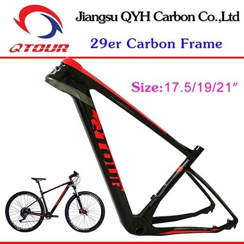 Super Light Chinese Supplier Jiangsu Bike T800 MTB Carbon Frame 29er ...