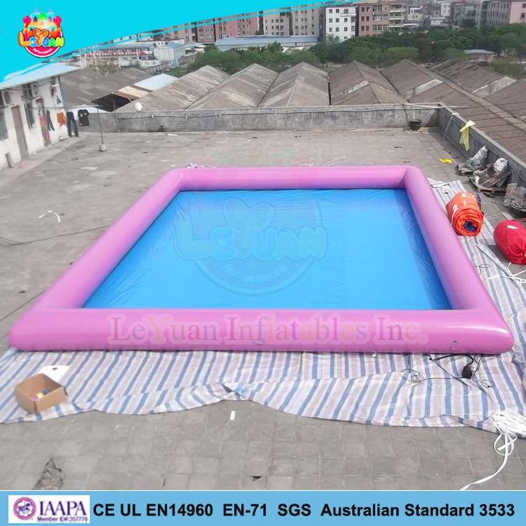 [Hot Item] New Welded Inflatable Swimming Pool En14960 Certification