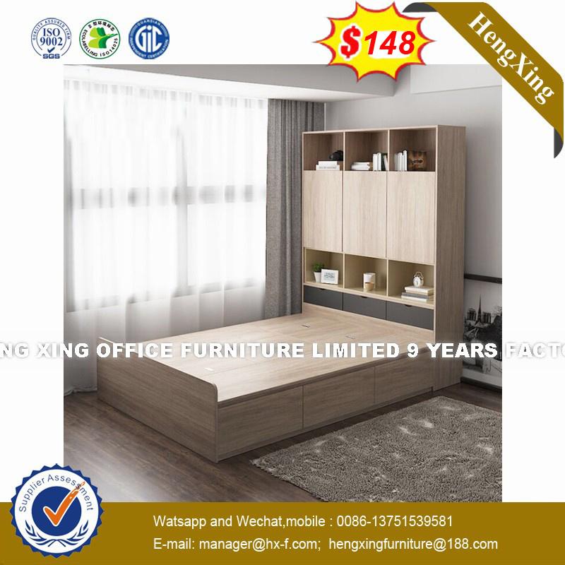 China E Saving Foldable Honey Color Pull Out Sofa Bed Hx 8nr1113