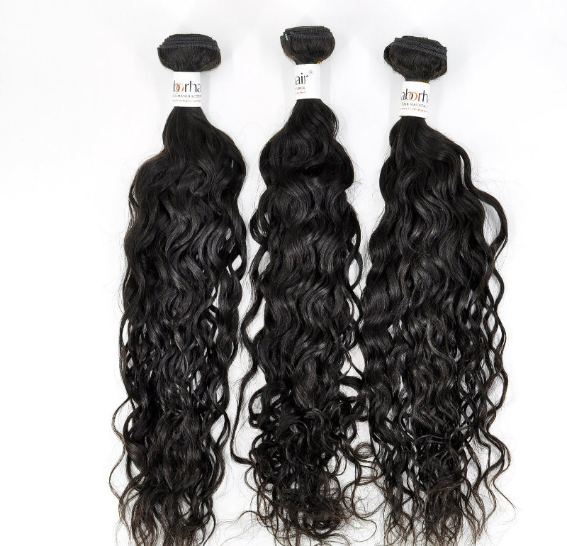 100 French Wave Chinese Unprocessed Virgin Human Hair Extensions