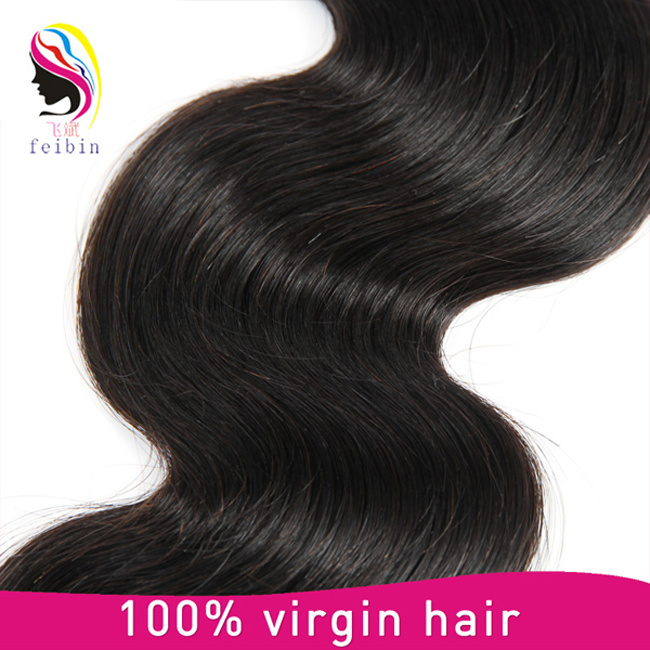 China Brazilian Hair Virgin Human Hair Extensions Body Wave Of All