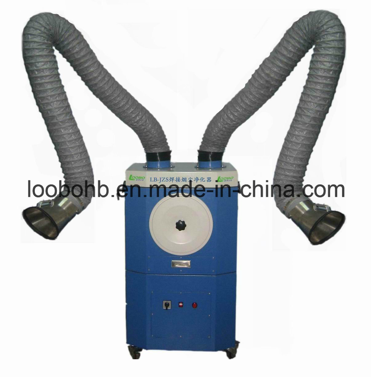 Mobile Portable Welding Fume Extractor Smoke Eater for Dust Extraction (LB-JZD) pictures & photos