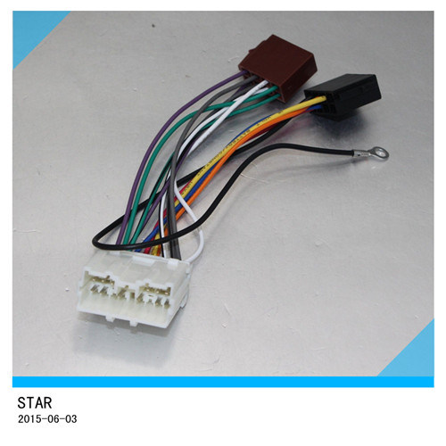 china mitsubishi car electric auto stereo sound iso wire harness rh starconnect en made in china com