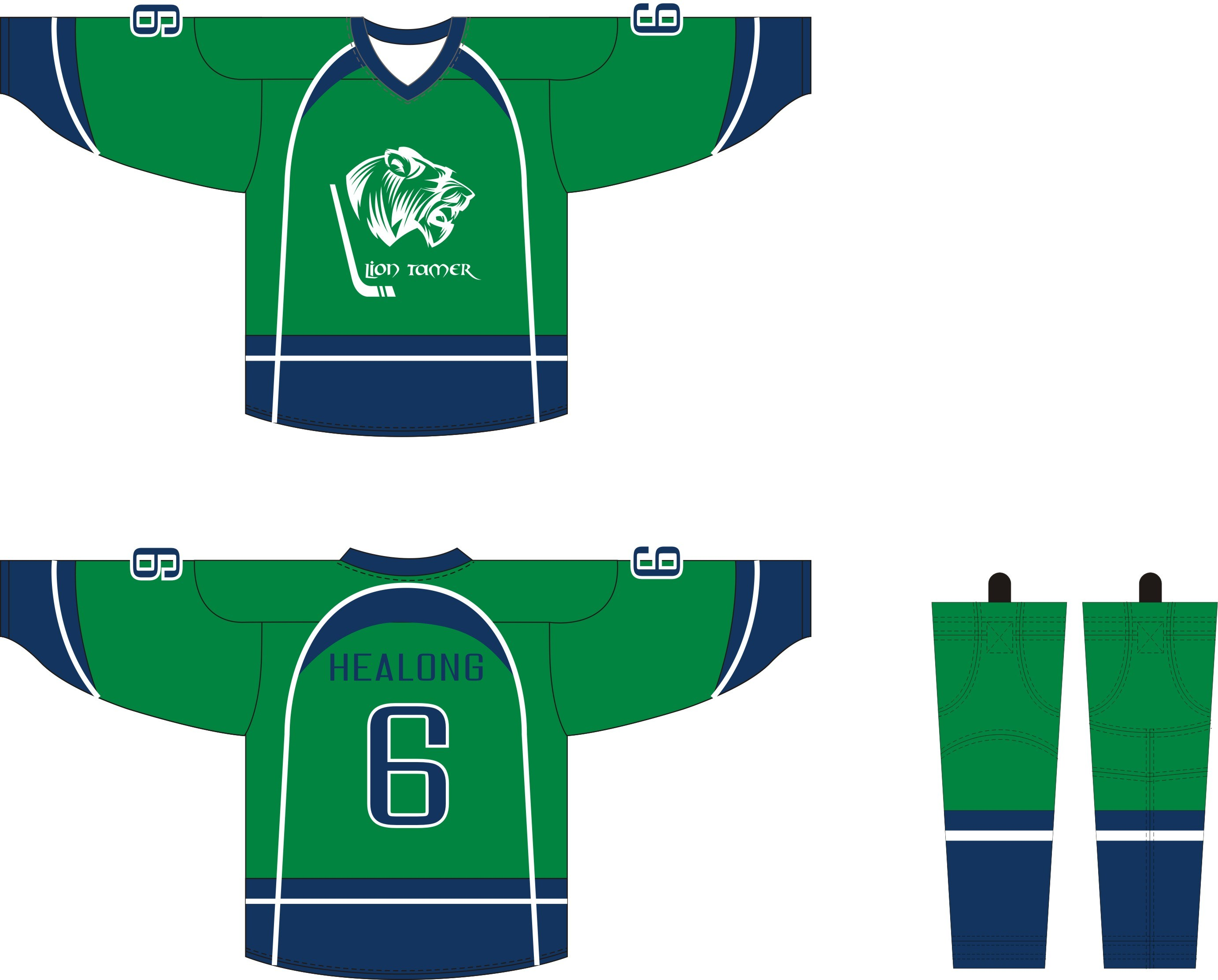 9c960e167fb Healong Customized Sportswear Sublimation Printing Reversible Hockey Jersey