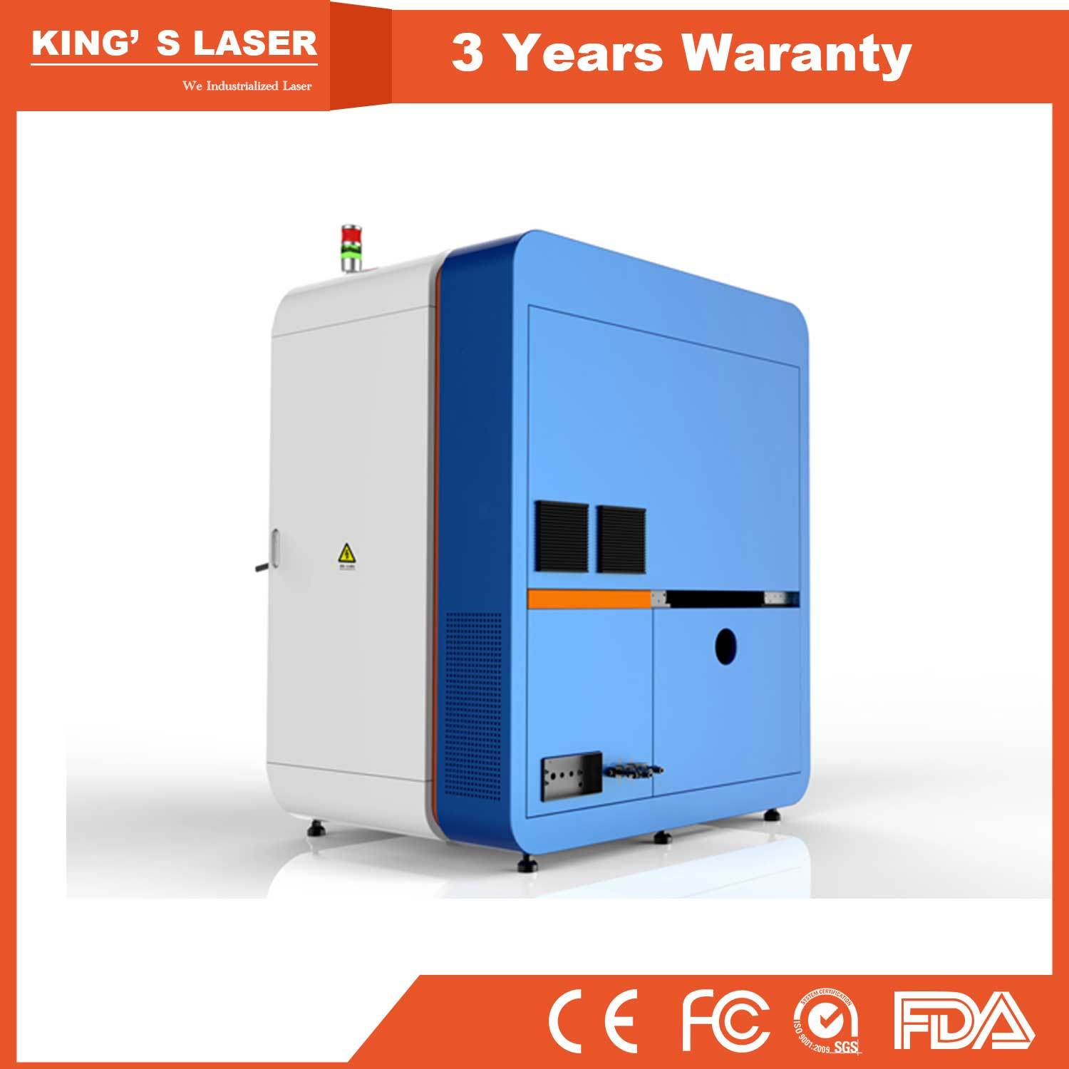China 250W Mini Precision Fiber Laser Cutting Machine Glass Frame ...