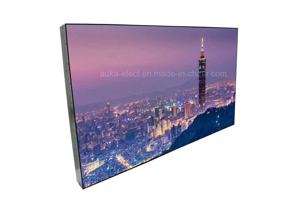 "55"" Ultra Narrow Bezel (3.5mm) LCD Video Wall with 3X3/3X4 Splicing"